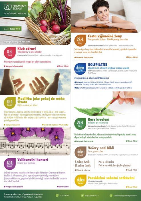 Prameny zdraví duben 2014